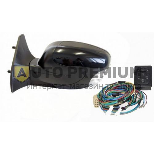 Боковые зеркала с обогревом, электроприводом, повторителем и антибликом (НЛ-15) на ВАЗ 2108-15 «Политех»