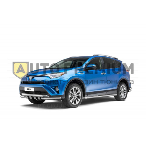 Защита порогов (НПС) Toyota RAV4 с 2013